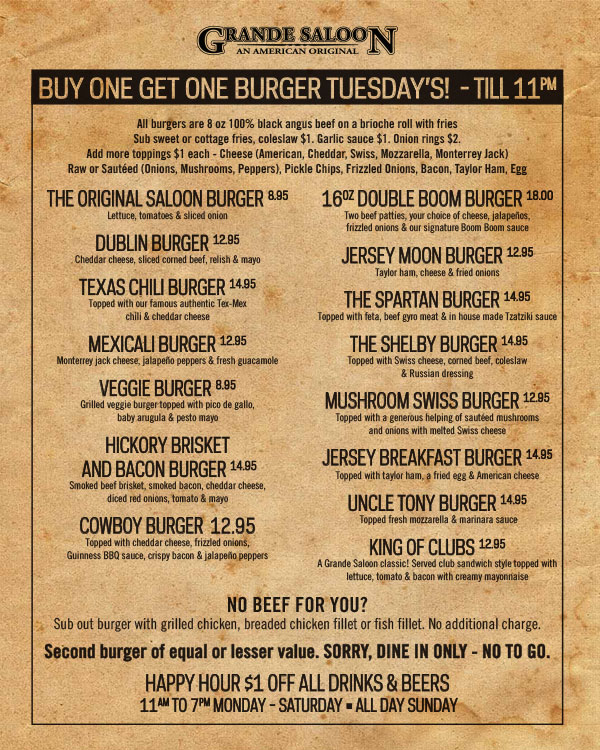 burger tuesday 9 29 19